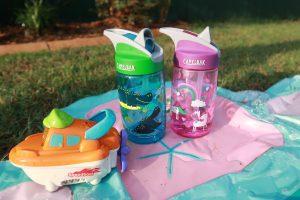 孩子不愛喝水? 試試 CamelBak eddy 兒童吸管運動水瓶!