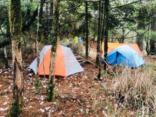 無名甘薯峰的耳無溪營地