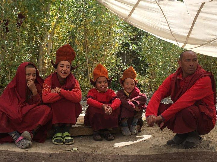 Zanskar的小喇嘛