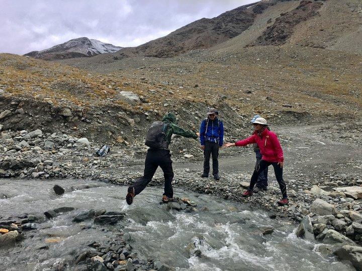失落的山谷Zanskar湍急河流