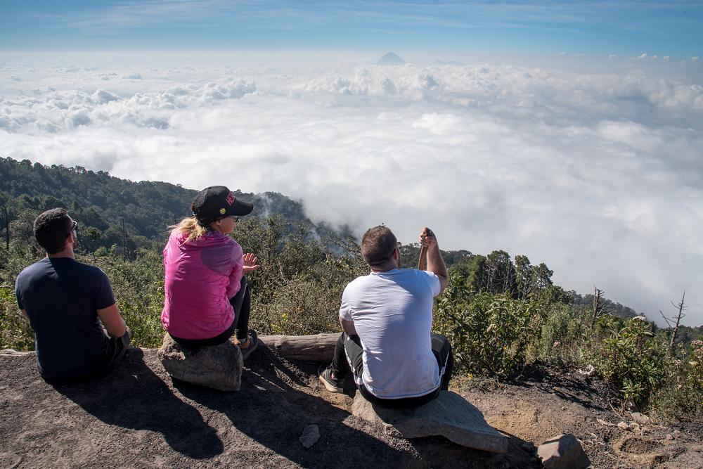 同行的20人,瓜地馬拉火山