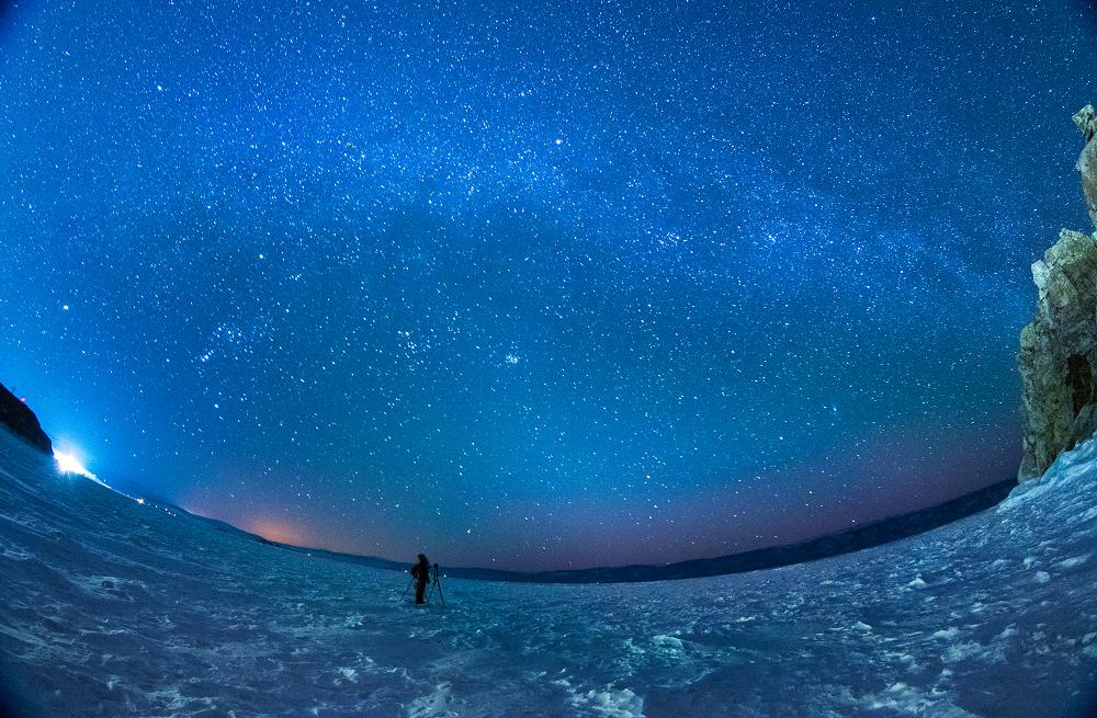 貝加爾湖星星