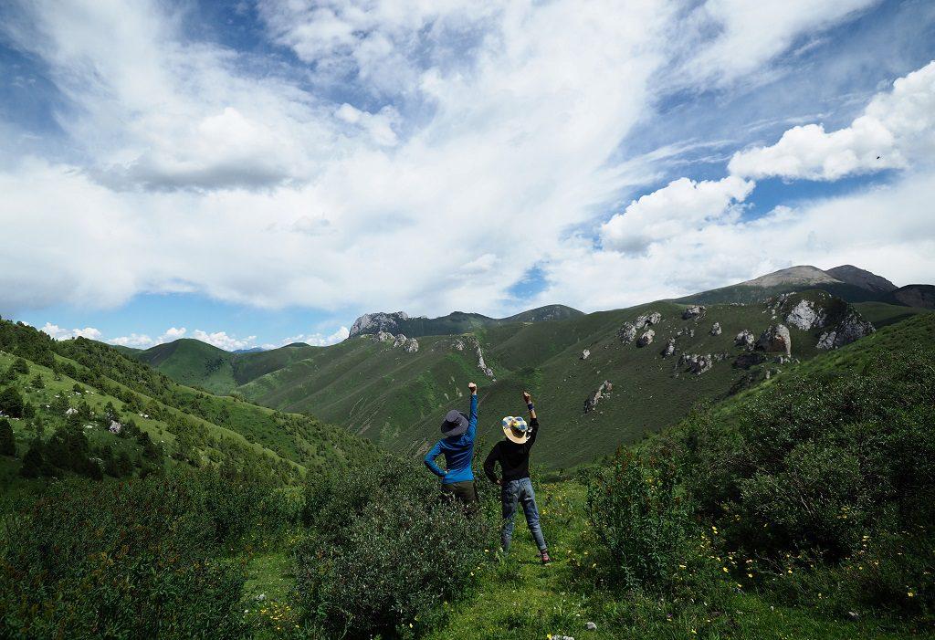 青藏高原的壯麗景觀
