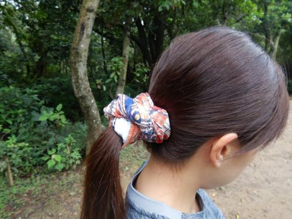 buff頭巾用來綁頭髮