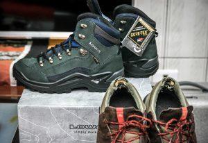 探索群山峻嶺之間:LOWA中筒多功能健行鞋