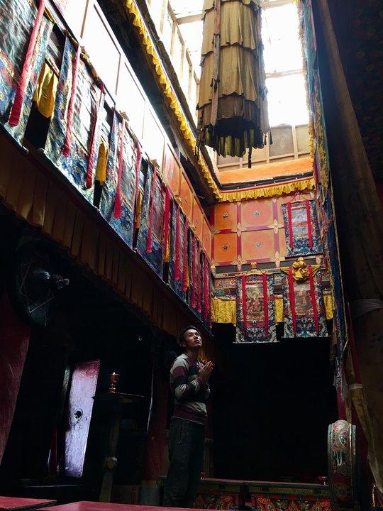 Zanskar廟宇