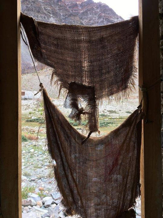 Zanskar 不安全的廁所門簾