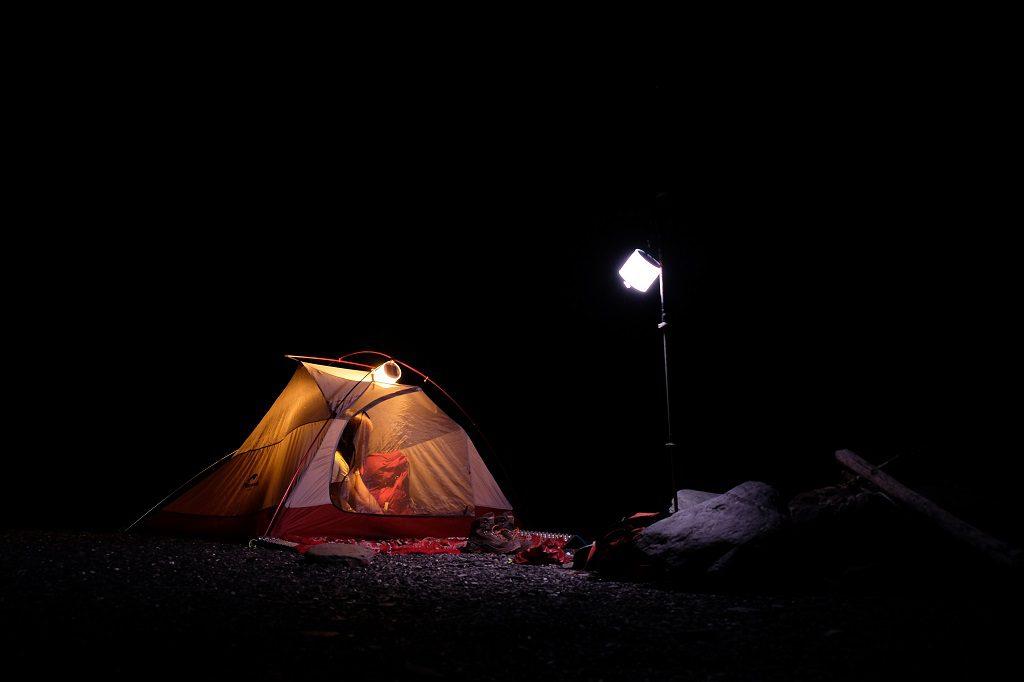 露營燈室內