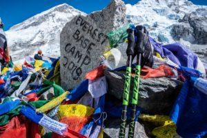 在喜馬拉雅山上,救我一命的FIZAN超輕登山杖