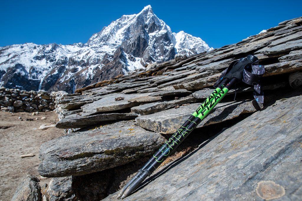 喜馬拉雅山與Fizan登山杖