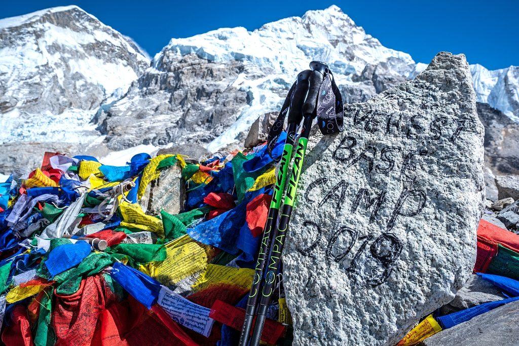 Fizan登山杖照片