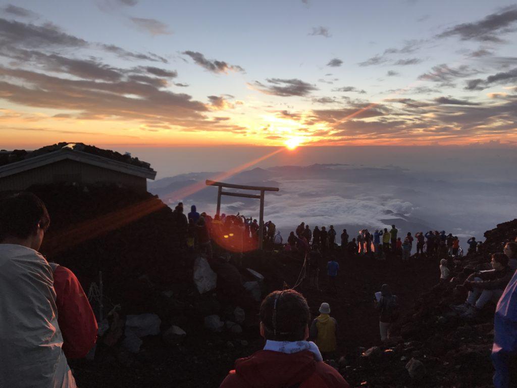 富士山御來光