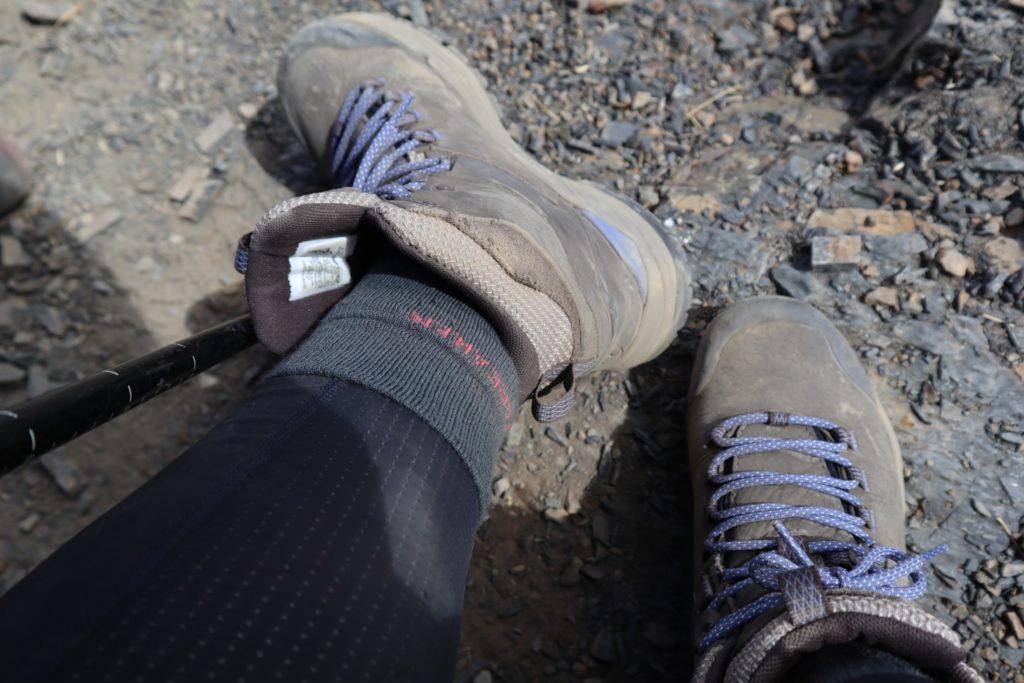羊毛襪 登山實測