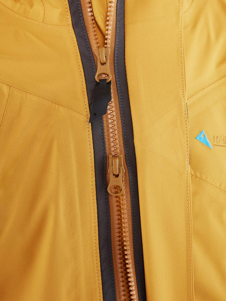 登山風雨衣 拉鍊設計