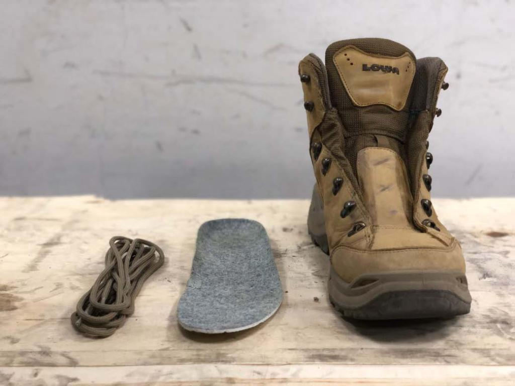 登山鞋防水測試