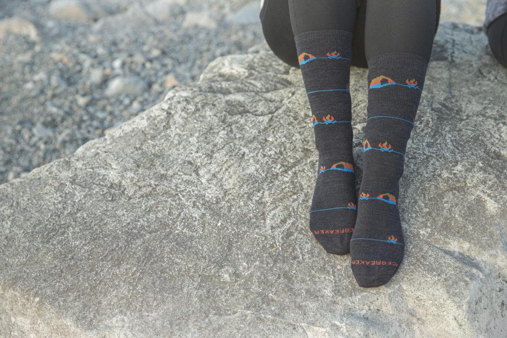 冬季登山保暖 美麗諾羊毛襪