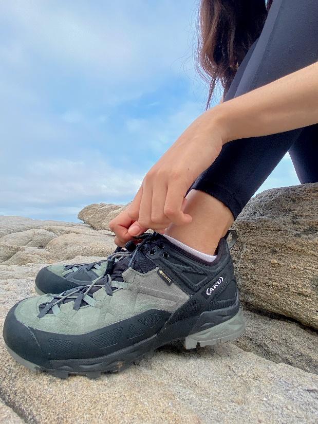 AKU DFS鞋帶系統方便調整鞋帶