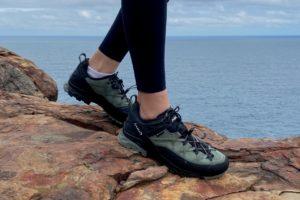 【登山鞋實測】義大利 AKU輕量雙鞋帶攀岩登山健行鞋ROCK DFS GTX