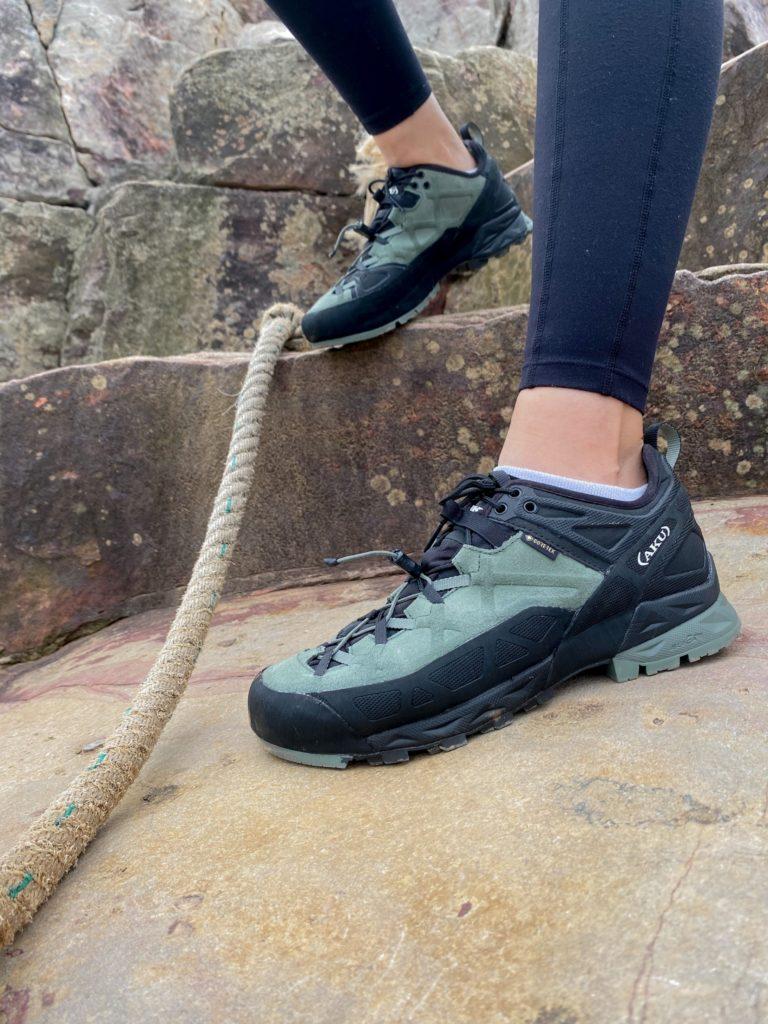 AKU ROCK攀岩登山鞋外型