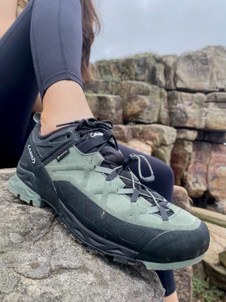 AKU ROCK攀岩健行鞋足尖保護