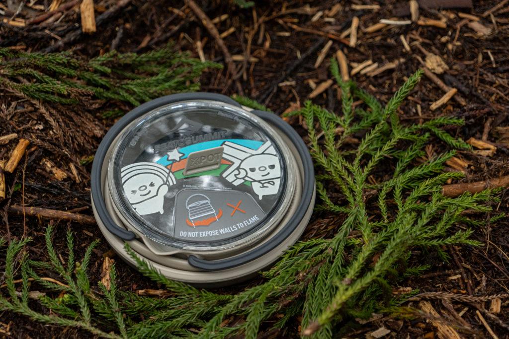 墾趣Open小將聯名戶外露營澳洲STSSeatoSummit摺疊茶壺
