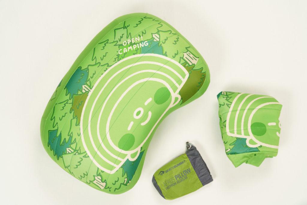 墾趣Open小將聯名戶外露營澳洲STSSeatoSummit充氣枕